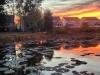 lakeside-homes-at-sunset