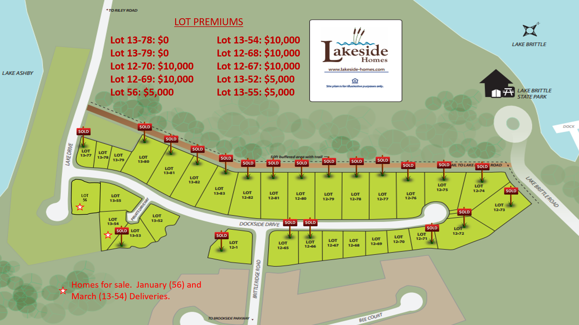 20171002_13C Site Map Sold Signs